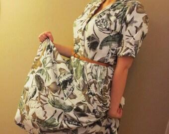 Vintage Dress- Spring Neutral colors