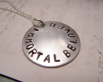 Immortal Beloved Necklace. Love. Amour. Beethoven