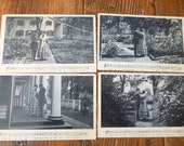 Antique Postcards, Early 1900s, Song Series, Charles Harris, Soldier and Sister