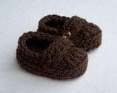 Baby Booties, Baby Loafers, Baby Loafer Booties, Crochet baby booties, Crochet baby loafers