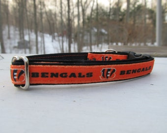 Cincinnati Bengals Cat or Small Dog Collar