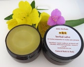 Herbal Salve/ All-Natural/ Soothe Minor Skin Problems/ eczema/ diaper rash/ itchy skin/ burns/bug bites/rashes/psoriasis/so much more!