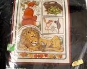 "1979 ""Aesop's Fables"" Dimensions crewel kit"