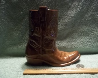 New Ceramic Western Cowboy Boot   Boots
