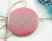 """Gryffindor Quidditch Captain 1.5"""" Pin"""