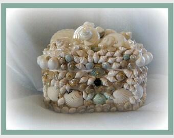 Sun Lilly Seashell Box