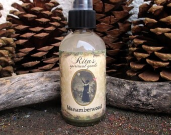 Rita's Vanamberwood Spiritual Mist Totem Spray - UNISEX - Pagan, Magic, Hoodoo, Juju