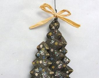 Christmas tree ornament 3 dimensional