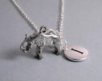 Elephant Charm Silver Plated Elephant Charm Silver Plated Charm Supplies