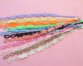 Lace Bracelets...Set of 12pcs...12 Colors...Fashion Lace Bracelets... N113-3