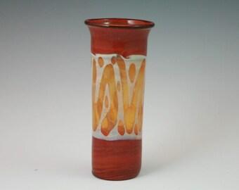 Blown Glass Shot Glass - Lampwork Handblown Bud Vase - Boro Glass Shooter