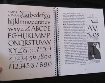 Calligraphy Instruction Book by Ralph Douglass