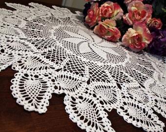 Beautiful Crochet Table topper