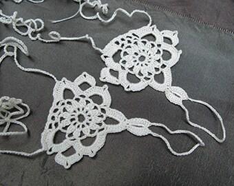 PDF Tutorial  Crochet Pattern,  Barefoot Sandals, Fingerless Gloves