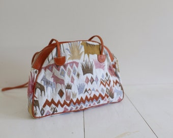 Vintage Southwestern design purse.  Made in Italy