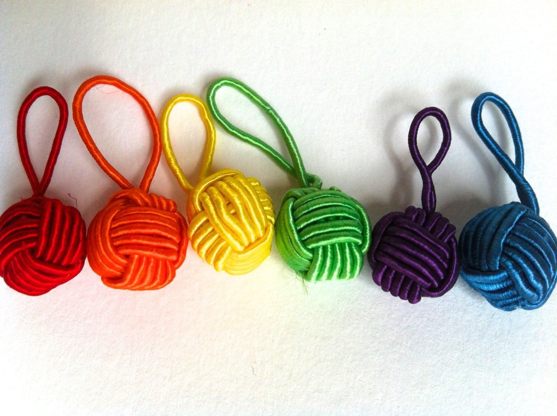 Knitting Markers Uk : Hiya uk knitting yarn ball stitch markers pack of