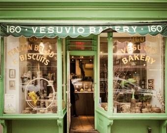 Vesuvio Bakery Photo New York Photography nyc Photograph Kitchen Art Soho Lime Green Restaurant nyc55