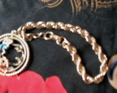 BRACELET - Vintage CORO - Great Condition - With Telephone Teenager Friends