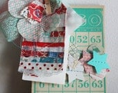 handmade garland and 4th of july dilly dilly pack of pretty ephemera and craft materials