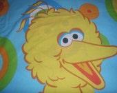 Sesame Street 's Big Bird and Oscar  STANDARD PILLOWCASE - Reclaimed Bed Linens