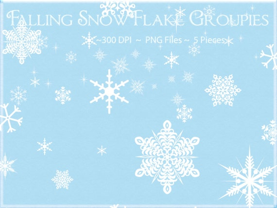 Falling Snowflake Clip Art Snowflake clipart, falling