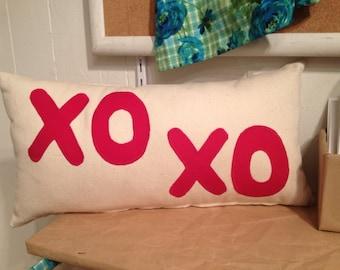 Happy Applique Pillow