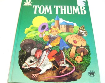 Tom Thumb Vintage Illustrated Childrens Book