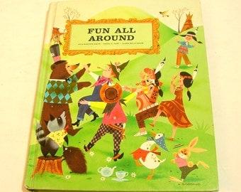 Fun All Around Best Of Children's Literature Vintage Book