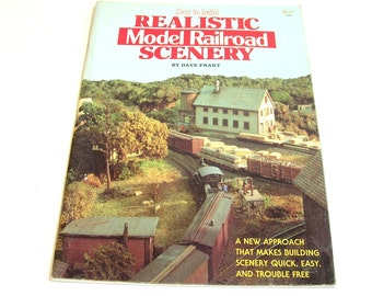 How To Build Realistic Model Railroad Scenery By Dave Frary Vintage Book