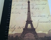 Eiffel Tower French Inspired Journal