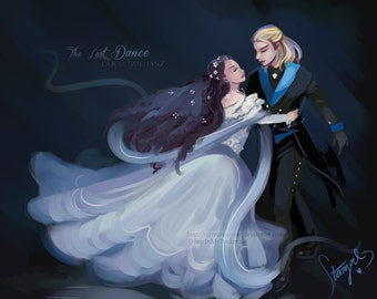 Elisabeth The Last Dance Art Print