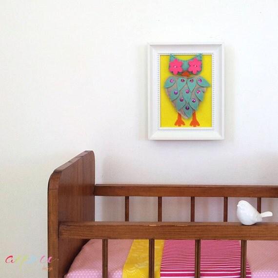 Children nursery wall art, Wall Art Canvas, Baby wall decor, Canvas 5 x 7 inch