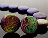 5 - 23mm Mood Beads - Thermo - Sensitive Liquid Crystal - 100% Guarantee - Radiant Rouge
