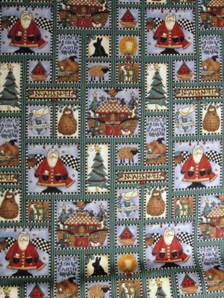 Debbie Mumm Santa And Noah S Ark Fabric Yardage