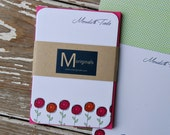 Personalized Notecards - Set of 8 - Ashley Notes