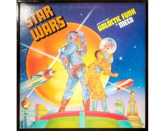 Glittered Vintage Star Wars Funk Album
