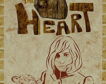 The Head and the Heart Poster - Limited Edition of 100