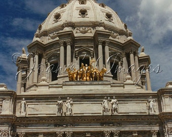 Capitol St. Paul 5x7.5 Fine Art Architecture Photograph