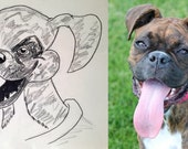 Custom Dog Caricatures