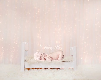 Newborn Baby Child Photography Prop Digital Backdrop for Photographers Sweet Dreams