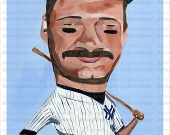 Don Mattingly, New York Yankees ART Print from Original Painting