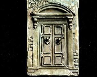 Door Panel Pendant Solid Sterling