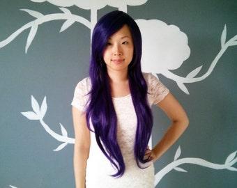SALE: Joker - Purple Superlong Wig - FREE SHIPPING