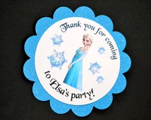 Disney Frozen Favor Tags (8)