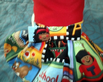 Dogs or Cats BACK to School DRESS