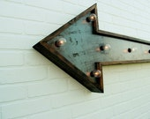 Arrow Wall Light // Large - againstthewoodgrain