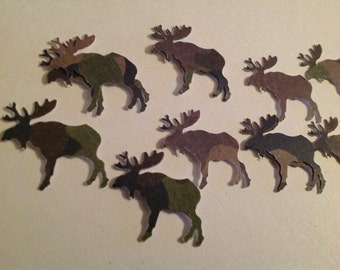 50 pc Moose in the Woods Confetti for a Party