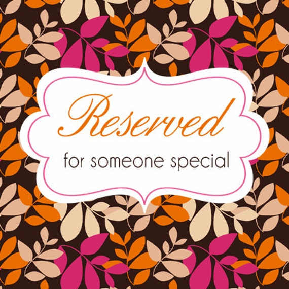 Reserved for U
