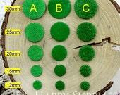 Round DIY Handmade Moss Grass Base for Decoration (DT004)