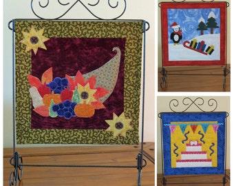 Fourth Seasonal Trio - mini quilt pattern QCP-104